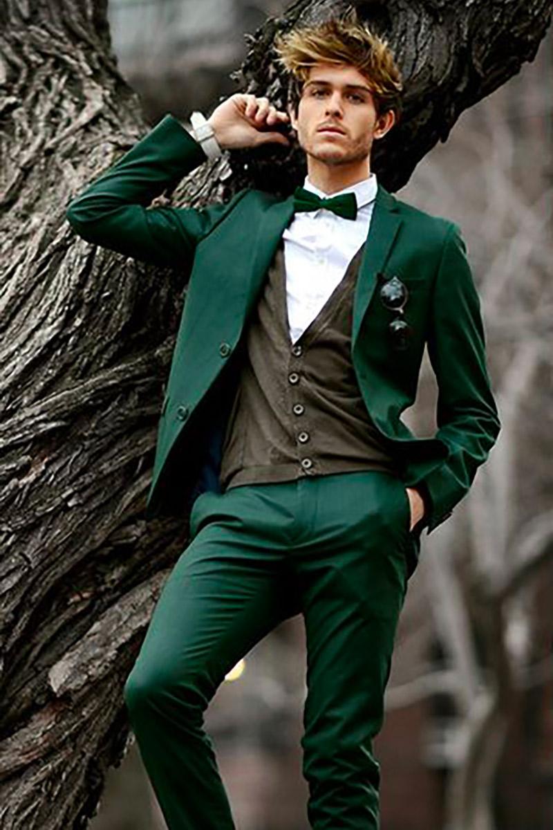 Abiti Da Sposa Verdi.Abito Da Sposo Verde Cerrato Moda Abiti Da Sposa Salerno