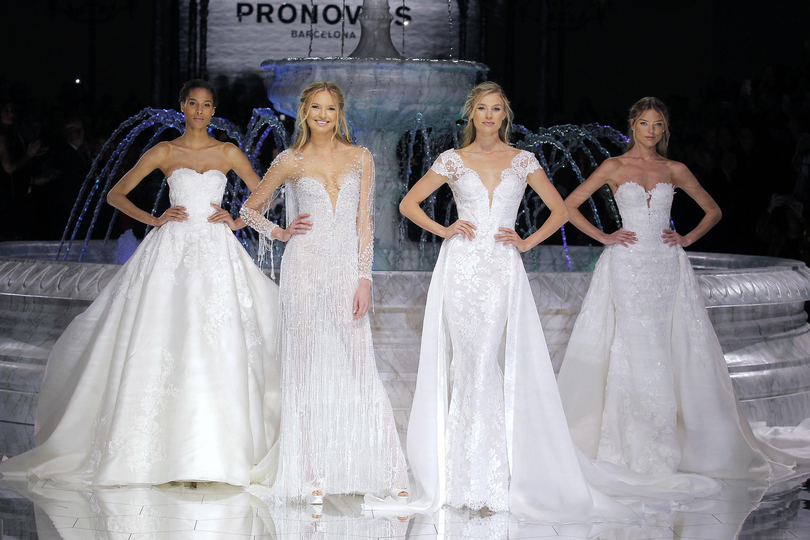 abiti da sposa pronovias 2018