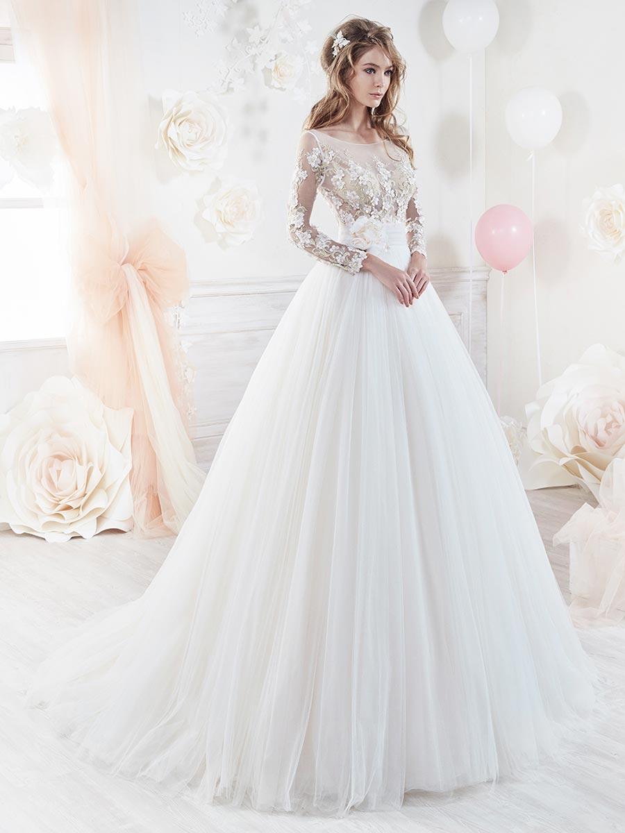 Vestiti Da Sposa 2018 Immagini.Abiti Da Sposa 2018 Colette Cerrato Moda Abiti Da Sposa Salerno