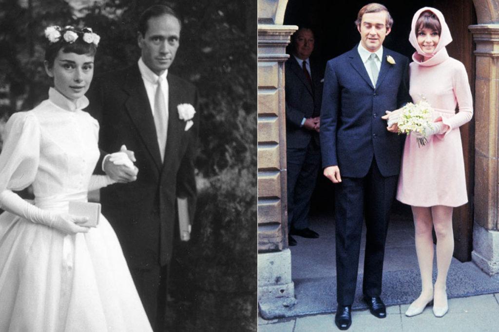 abito da sposa audrey hepburn