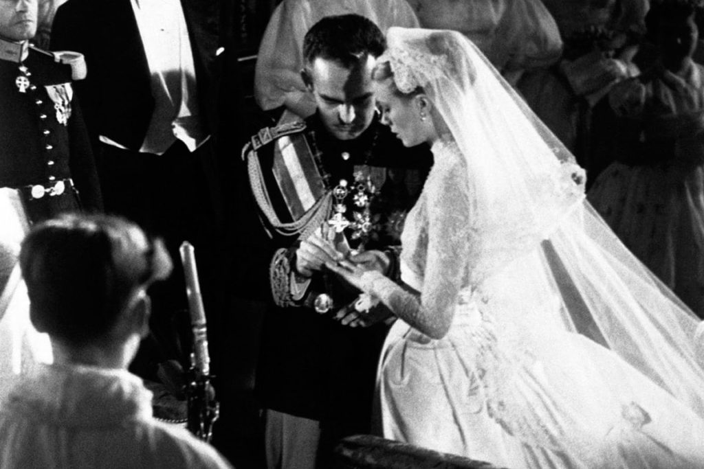 abito matrimonio grace kelly