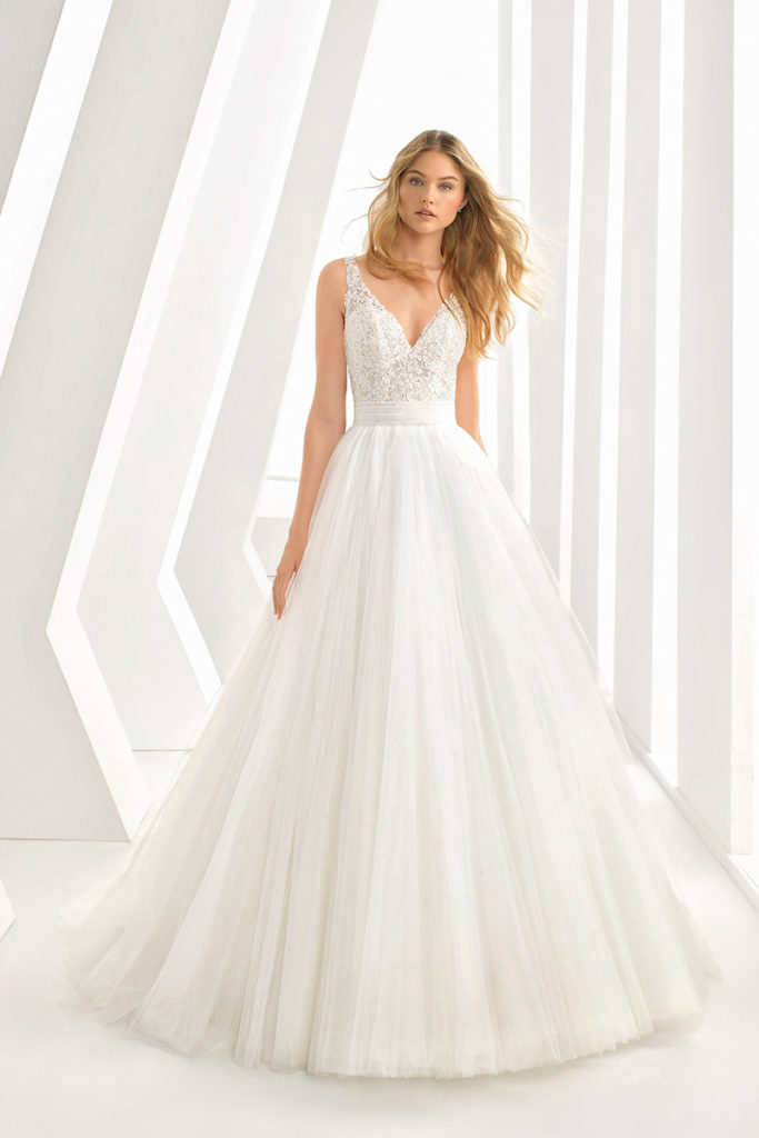 abiti da sposa rosa clara 2019