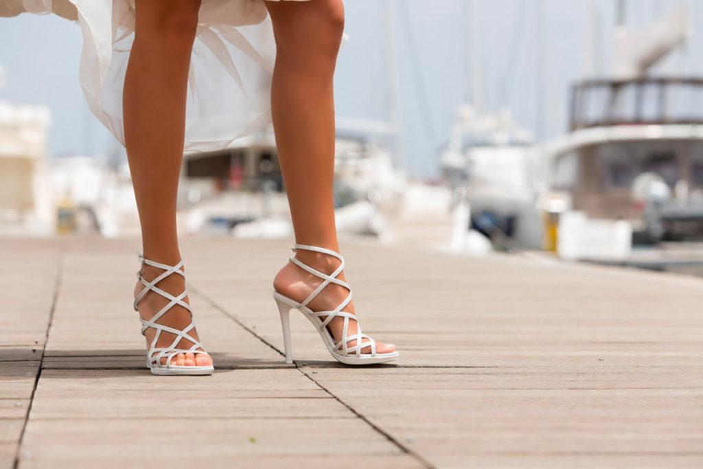scarpe sposa particolari