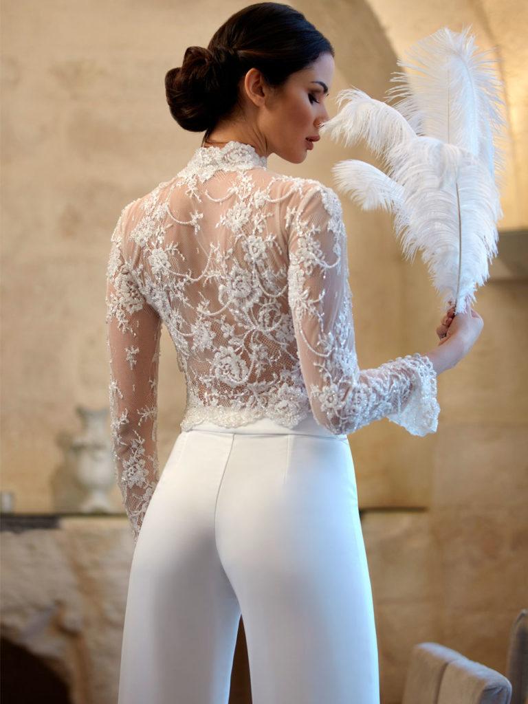 abito da sposa invernale tailleur