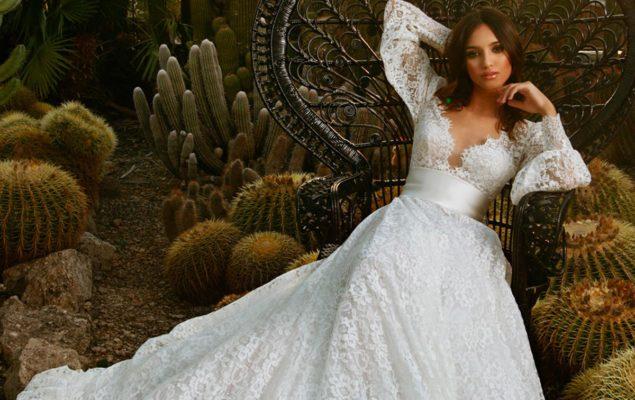 abiti da sposa con maniche