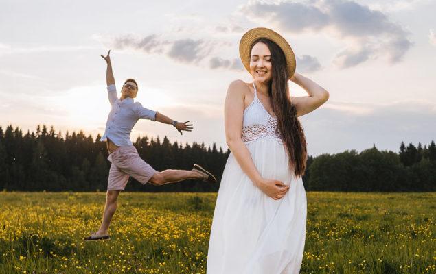 abito da sposa premaman