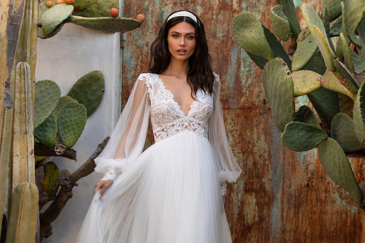 abito da sposa autunnale